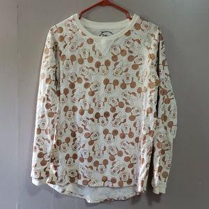 Disney Mickey Mouse Long Sleeve Sweatshirt NWOT